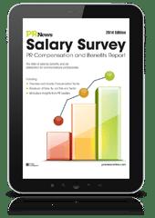 pr salary survey and benefits report