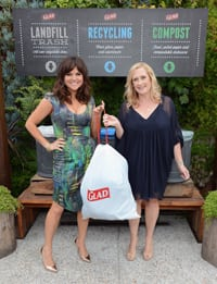 Glad And Actress Tiffani Thiessen Host One Bag Party