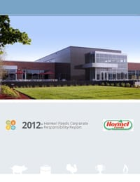 SustainabilityCSR Report_Hormel Foods with Burson-Marsteller and Proof Integrated Communications