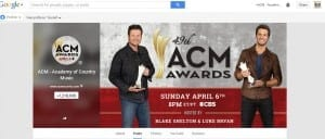Google+ Circle Growth_Academy of Country Music