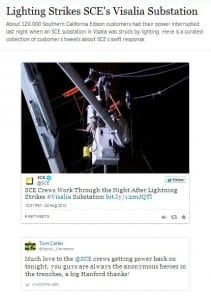 Twitter Crisis Management Campaign_Southern California Edison