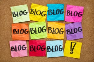 you have to blog reminder