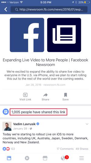 facebook, api