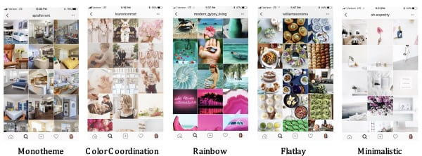 Pick a Theme: There are myriad theme styles brands can pick for their Instagram feed. Apartments.com uses a Monotheme that alternates photos of interiors and exteriors of apartments. Flatlay is a favorite of food brands. Sticking to one theme provides consistency to a brand's Instagram feed. And customers are more likely to engage with a post if they recognize it.