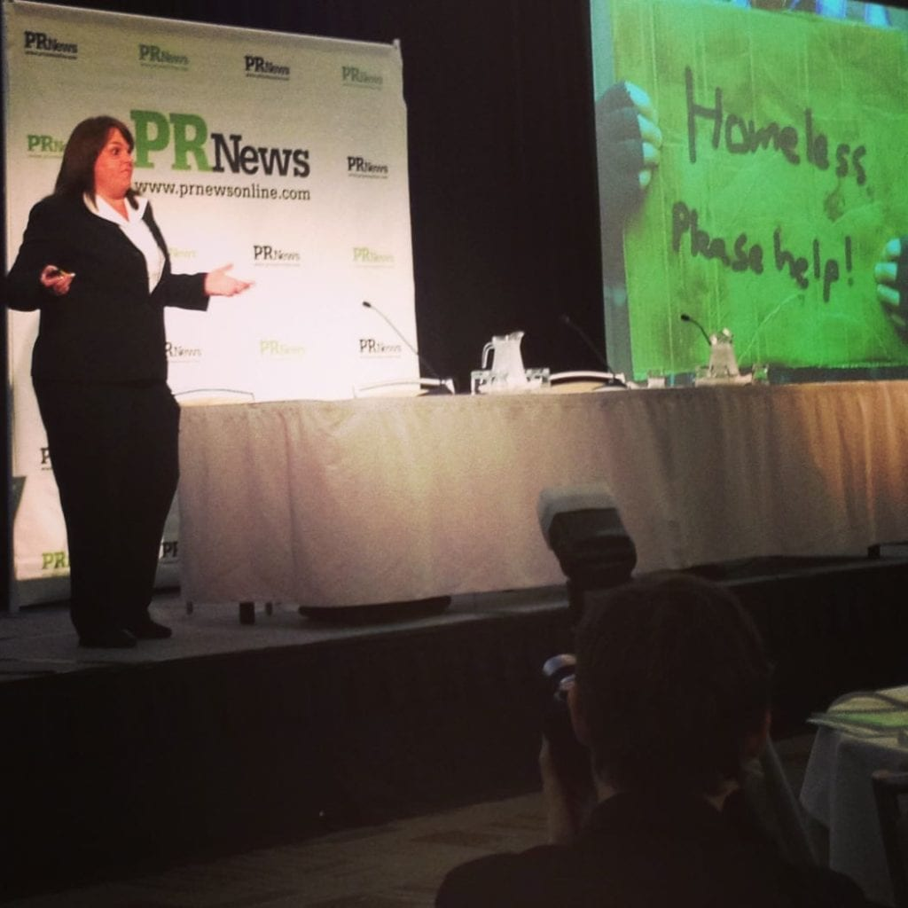Eight By Eight's Amy Africa at the PR News Digital PR Summit