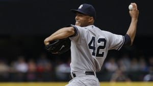 Mariano Rivera throwing