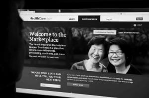 The smiling faces on screen belie the poorly executed (and poorly communicated) rollout of the Affordable Health Care Act.