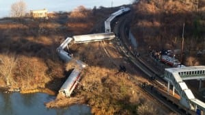 Metro-North Railroad train derailment