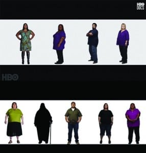Culled from The Weight of the Nation website, these images show a cross section of Americans who are struggling with how to lose weight. The images are titled, 'What Can I Do to Improve my Overall Health?'