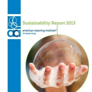 External Publication or Report_American Cleaning Institute 2013 Sustainability Report