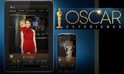 Oscars Academy Awards second screen