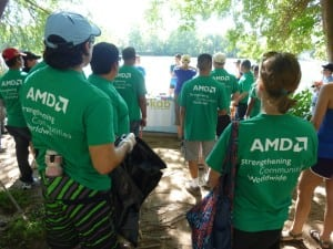 AMD's Green Army, a finalist in the Event: CSR/Green Focus category.