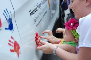 Facebook Communications Campaign_Hyundai Hope On Wheels and Finn Partners