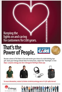 Workplace_Innovation_Entergy's_Power To Care Campaign