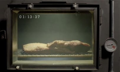 A screencap of the Arby's brisket commercial.