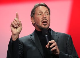 Larry Ellison (Photo by Justin Sullivan/Getty Images)
