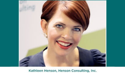 Co-Winner: Kathleen Henson, Henson Consulting