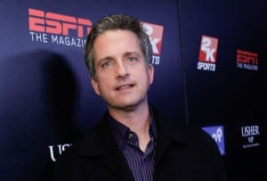 SIDELINED: Bill Simmons,  editor-in-chief of the ESPN-affiliated Grantland, was suspended by ESPN for three weeks after he called NFL commissioner Roger Goodell a liar.