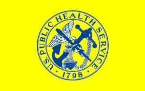 Flag of the United States Public Health Service Comm