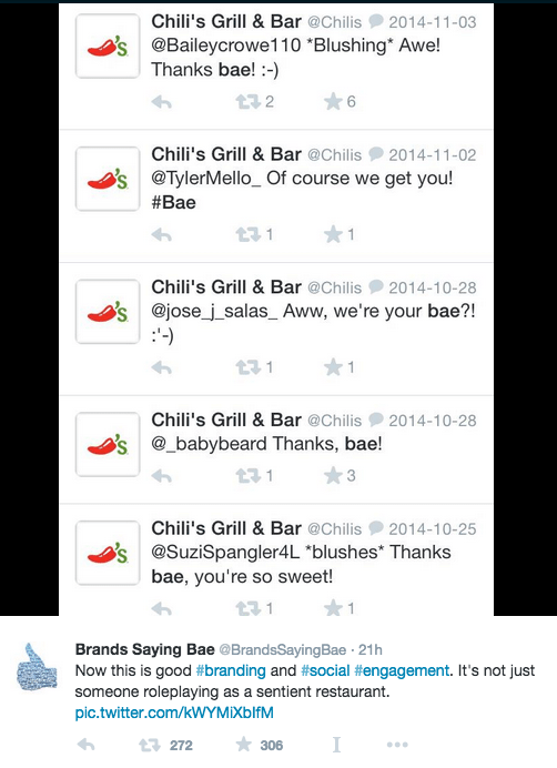 brands saying bae 1