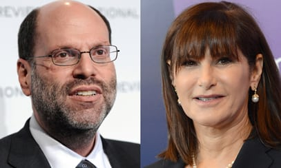 Scott Rudin and Amy Pascal (Image: salon.com)