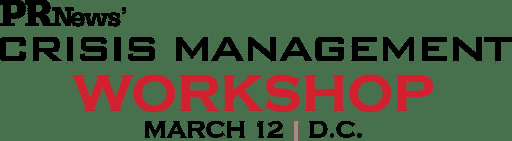 25411_PRN Crisis Management Workshop logo