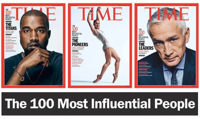 time 100 most influential