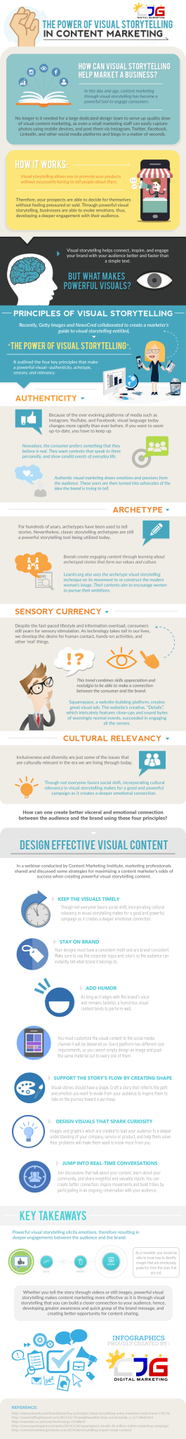 The Power of Visual Storytelling in Content Marketing - CJG Digital Marketing