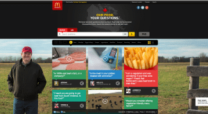 """The  """"Our Food, Your Questions"""" campaign gets support from McD's Brand Newsroom."""