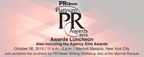 PR Platinum Awards 2015