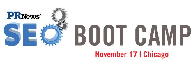 PR News' SEO Boot Camp 11/17/15