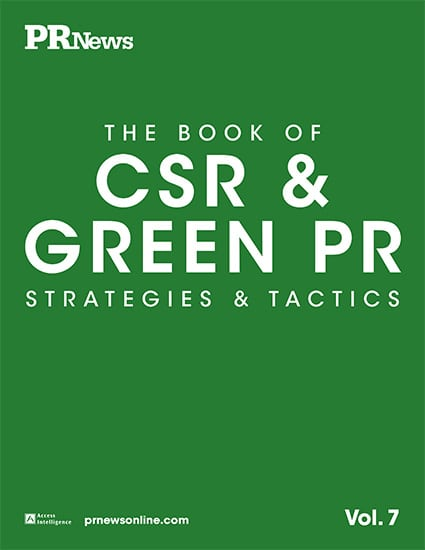 pr and csr Integrating brand marketing with csr & pr increasingly, companies are putting a public face on their corporate social responsibility (csr) activity.