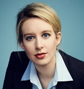 THERANOS FOUNDER HOLMES: Bloodletting