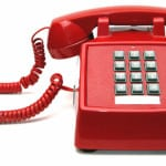 red, phone, touch, touch-tone, tone, dial, communications, talk, hotline, hot-line, emergency, cord, push, button, numbers, receiver, discussion, vintage, urgency, handset, business, classic, landline, telephone,