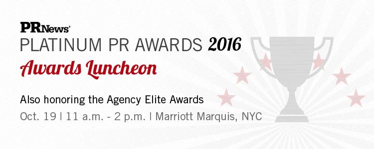 Platinum PR Awards Luncheon 2016