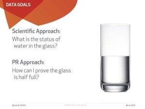 glass, half full, empty, PR, scientific