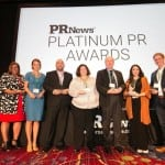 Platinum PR Awards winners.
