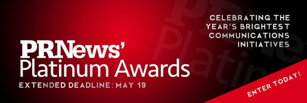 PR News Platinum Awards