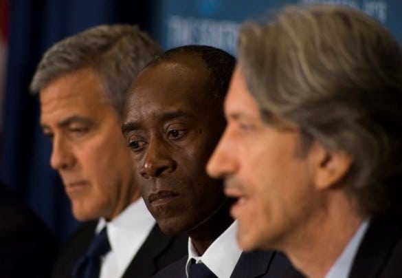 don cheadle, george clooney