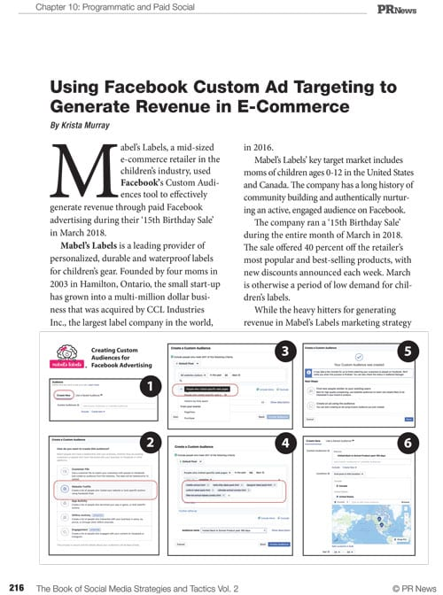 Social Media Guidebook Sample Article