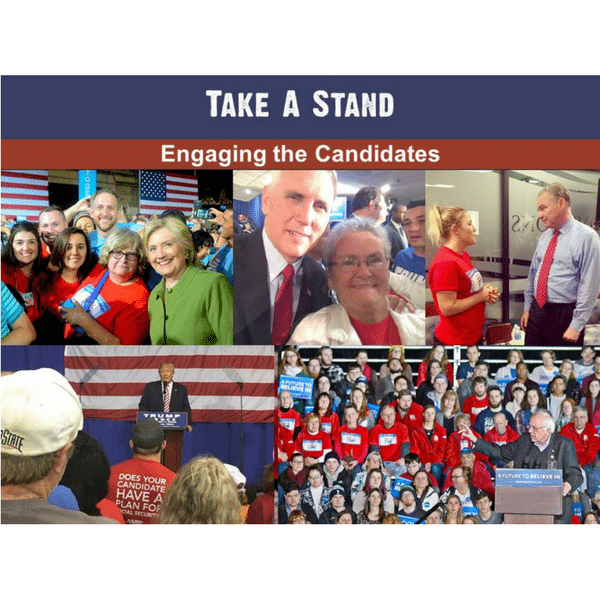 aarp, take a stand, social security, candidats, 2016 election