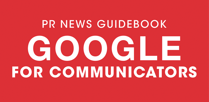 Google for Communicators Guidebook
