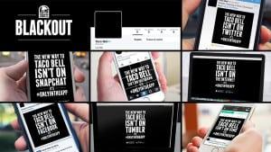 Taco Bell – Social Media Blackout