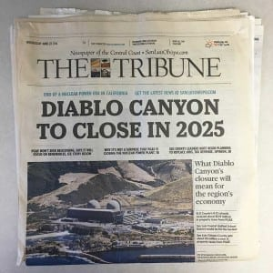 Keeping GHG-Free Energy Flowing From Diablo Canyon Power Plant Through 2025