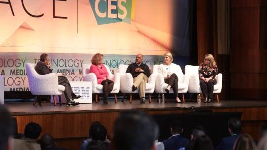 CES 2018 panel