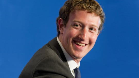 Mark Zuckerberg, Co-CEO, Facebook
