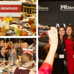 tables, attendees, winners at PR News' agency elite awards
