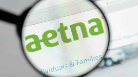 aetna, magnifying glass, website