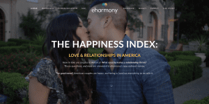 eHarmony's Happiness Index
