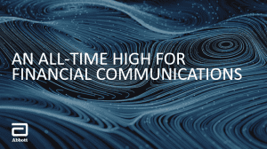 An All-Time High for Financial Communications
